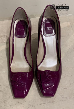 Christian Dior purple