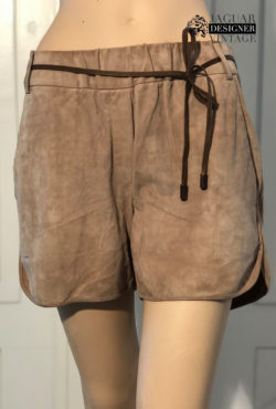 Brunello Cucinelli suede short