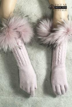 Rosa handschoenen